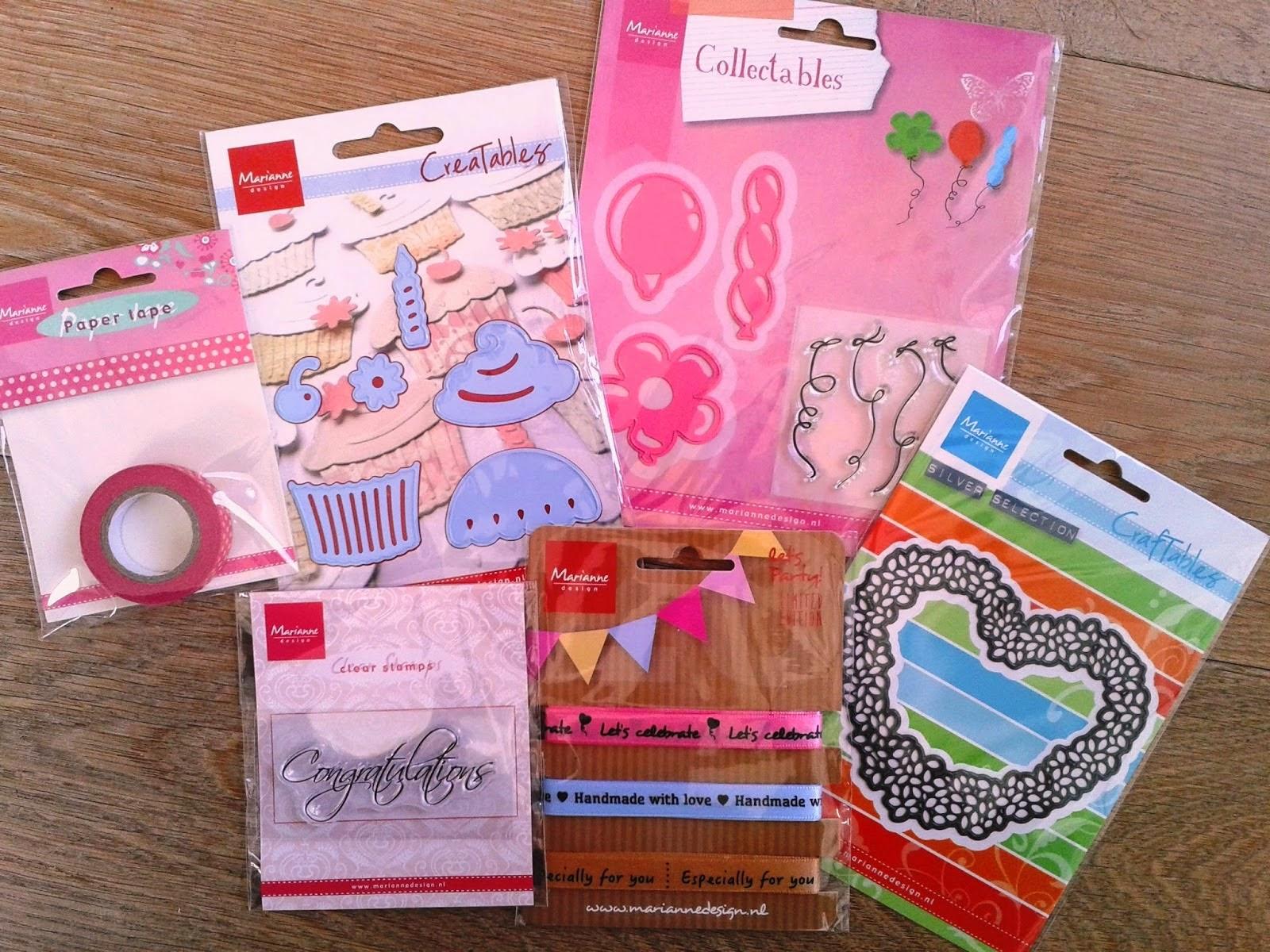 Feest Candy van Marianne Design
