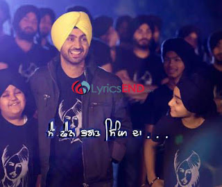Main Fan Bhagat Singh Da Lyrics - Diljit Dosanjh