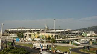 Foto do estádio do Maracanã