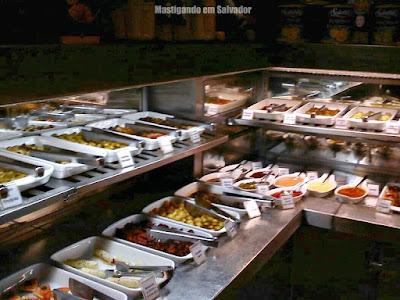 Cantina Cortile: Opções de Antepastos