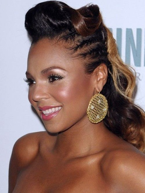 Black women hairstyles latest black hairstyles updos 2015 trends latest black hairstyles updos 2015 trends pmusecretfo Images