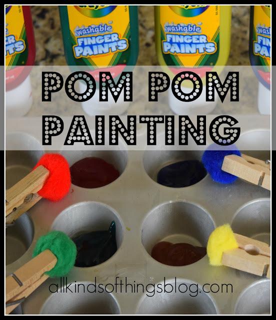Pom Pom Painting