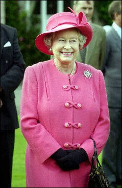 The Queen Loves Pink