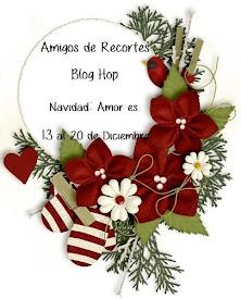 Muy Pronto !!! Amigos de Recortes Blog Hop