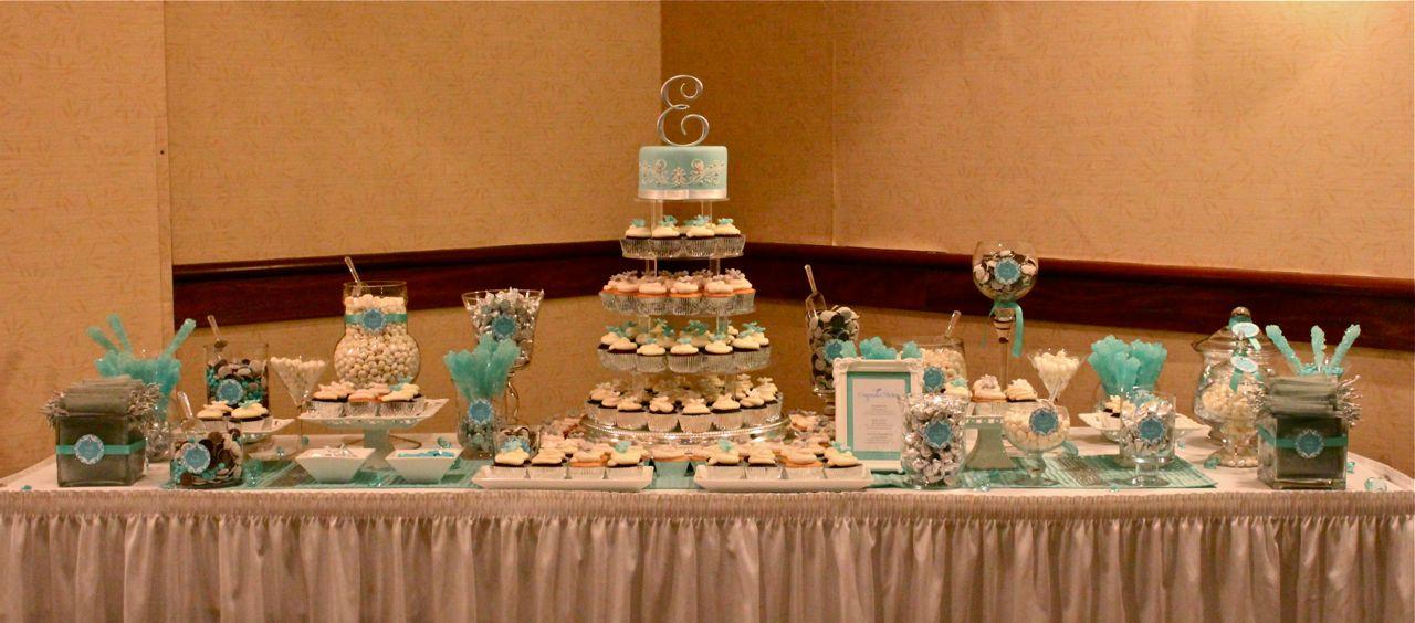 Lindsay Amp Erics Tiffany Blue Wedding