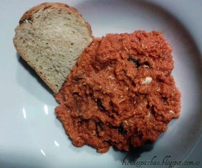 revuelto de tomate frito casero