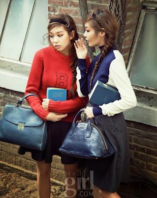 Lee Ho Jung, Go So Hyun Vogue Girl October 2013