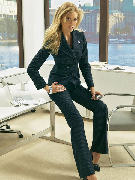 фото деловые женщины в колготках
