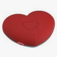 Audio Grabador de Mensajes Corazón Imán