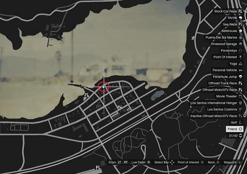GTA 5, Human Locations, Clinton