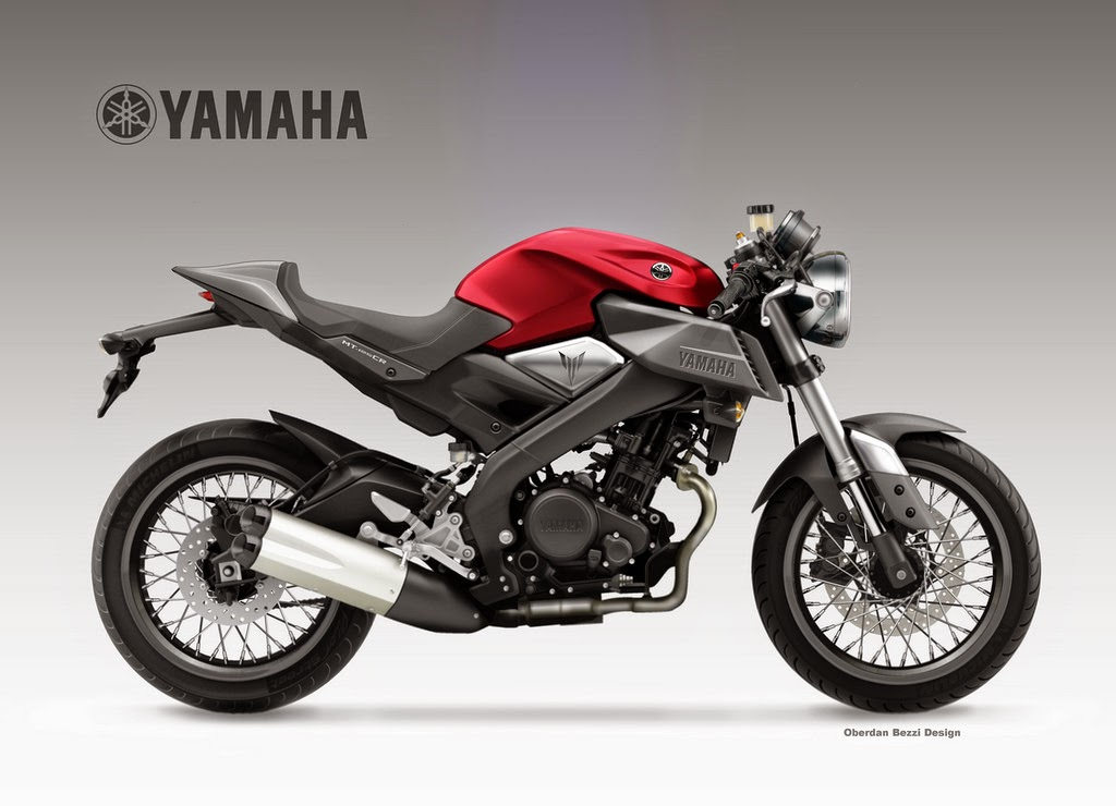motosketches yamaha mt 125 cr. Black Bedroom Furniture Sets. Home Design Ideas