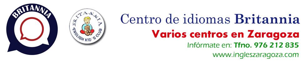 Britannia. Centro de idiomas en barrio Actur (Zaragoza). Inglés, francés, alemán.