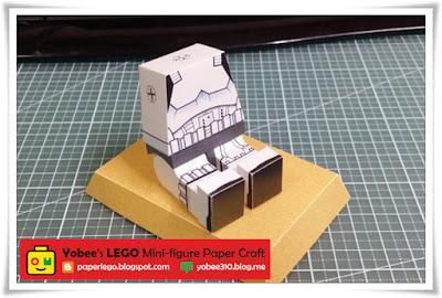 LEGO Storm Trooper Paper Craft