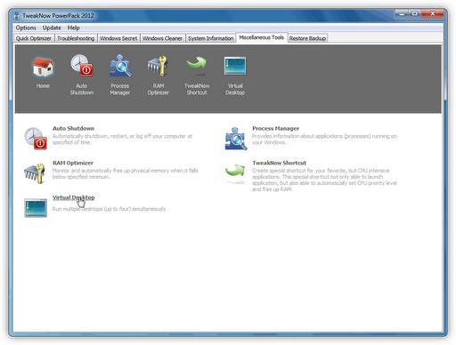 TweakNow PowerPack Descargar TweakNow PowerPack 2012 v4.1.9 versión Portable