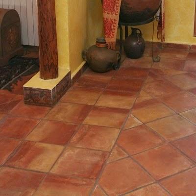 Terra antiqva baldosas barro cocido azulejos zaragoza for Baldosa ceramica interior
