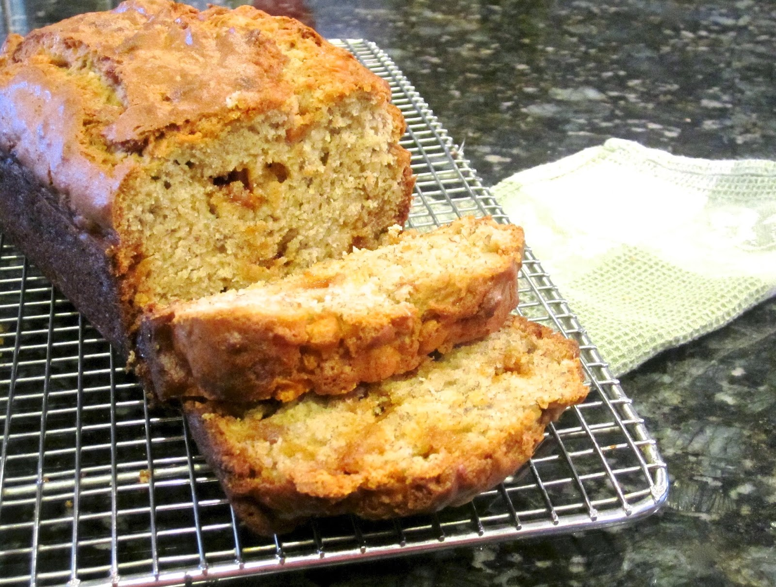 butterscotch banana bread from sixsistersstuff com 3 ripe bananas ...