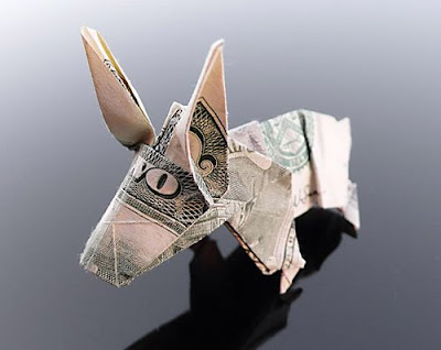 Beautiful Dollar Origami Art By Craig Sonnenfeld Seen On www.coolpicturegallery.us