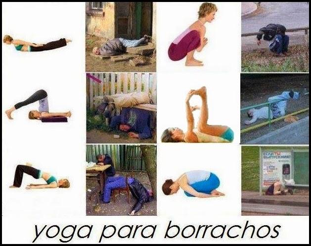 Cuadro de ejercicios de yoga.