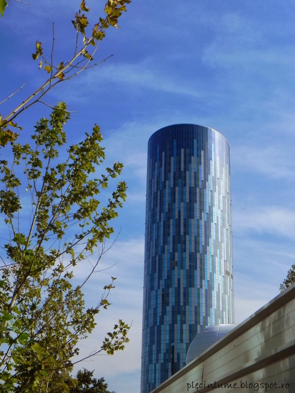 Sky Tower de jos