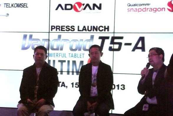 Peluncuran Advan Vandroid T5A