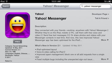 Download Yahoo Messenger za iPad