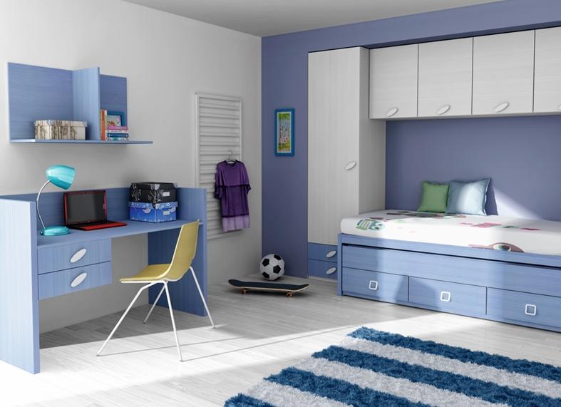 Muebles y decoracion de interiores for Habitaciones infantiles modernas