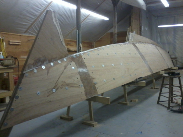 Which in my mind is a pretty good reason to build a boat.