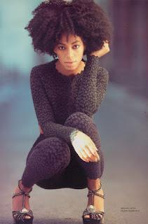 Solange in Italia Vogue