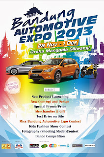 BANDUNG AUTOMOTIVE EXPO 2013 | 28 Nov - 1 Des 2013
