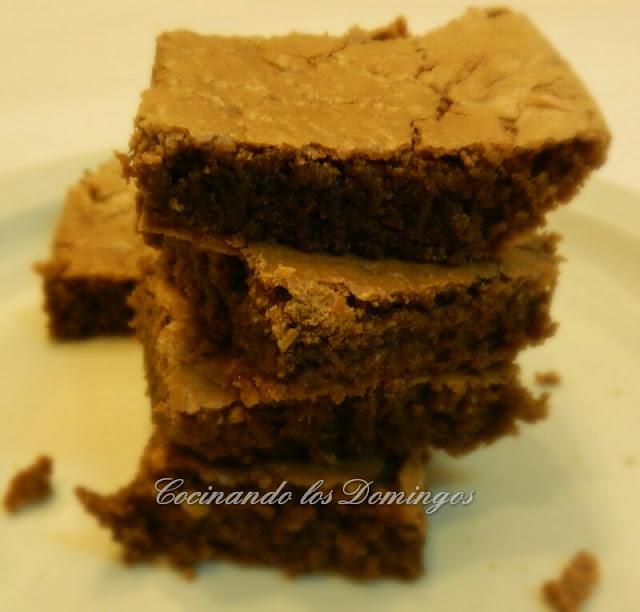 Receta de brownies