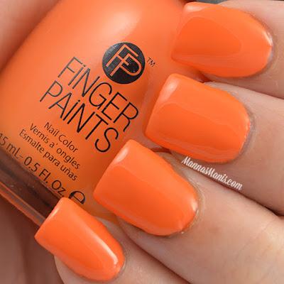 FingerPaints Tie Dye Revolution Tie Dye Tangerine swatches