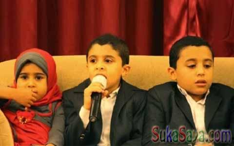 Ketiga Anak Ini Hafidz Quran, Apa Rahasianya?