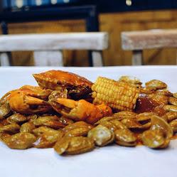 Menu kepiting naked crab