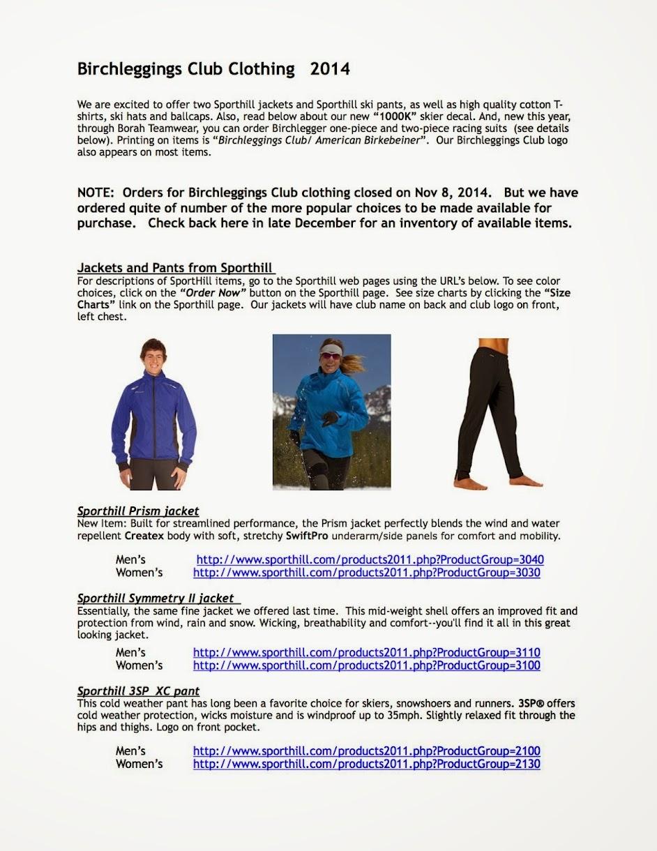 Birchlegger Clothing Pictures