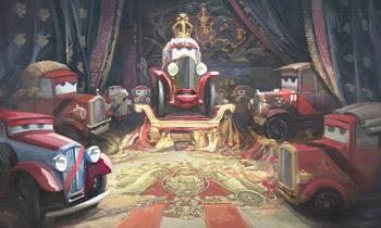 boda real inglesa cars2