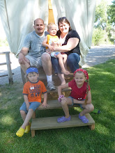 Andrew and Amy's family 2012