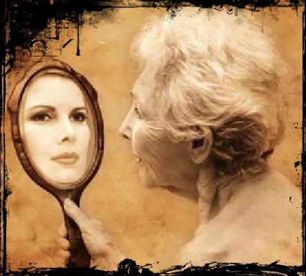 Aos Anos Se Olha No Espelho E V Sabedoria Paci Ncia Bom