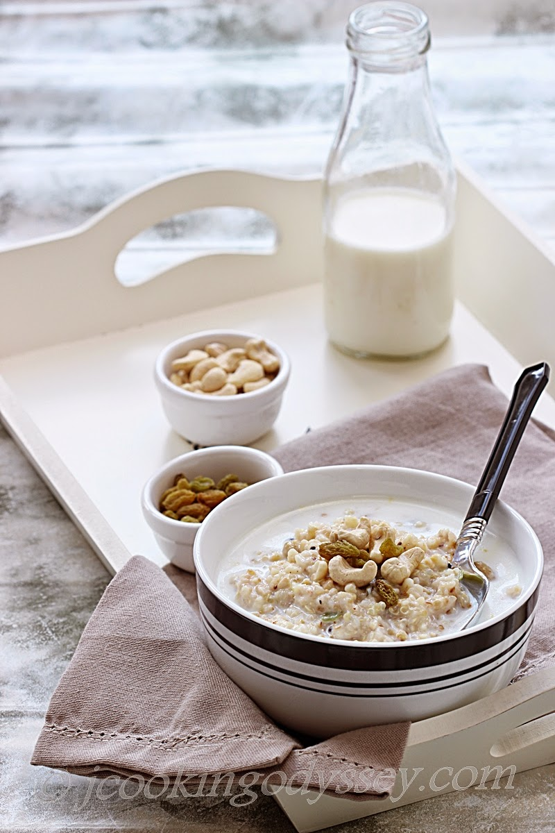 how to make porridge with steel cut oats