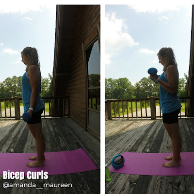 Bicep Curl, Total Body Workout, BOSU, Workout Wednesday, Strength Training