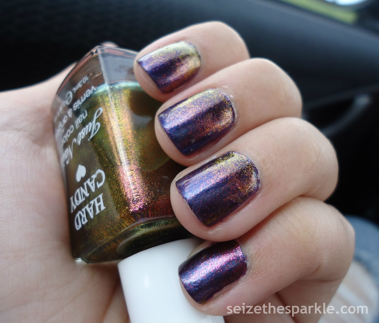 Orly Mysterious Curse, Hard Candy Beetle, NYC Shimmer Blast