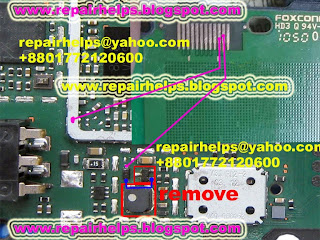 nokia c1-01 light solution without ic