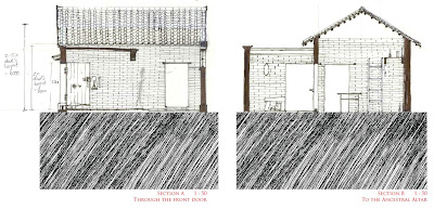 China Chinese Ancestral House Thesis Architecture