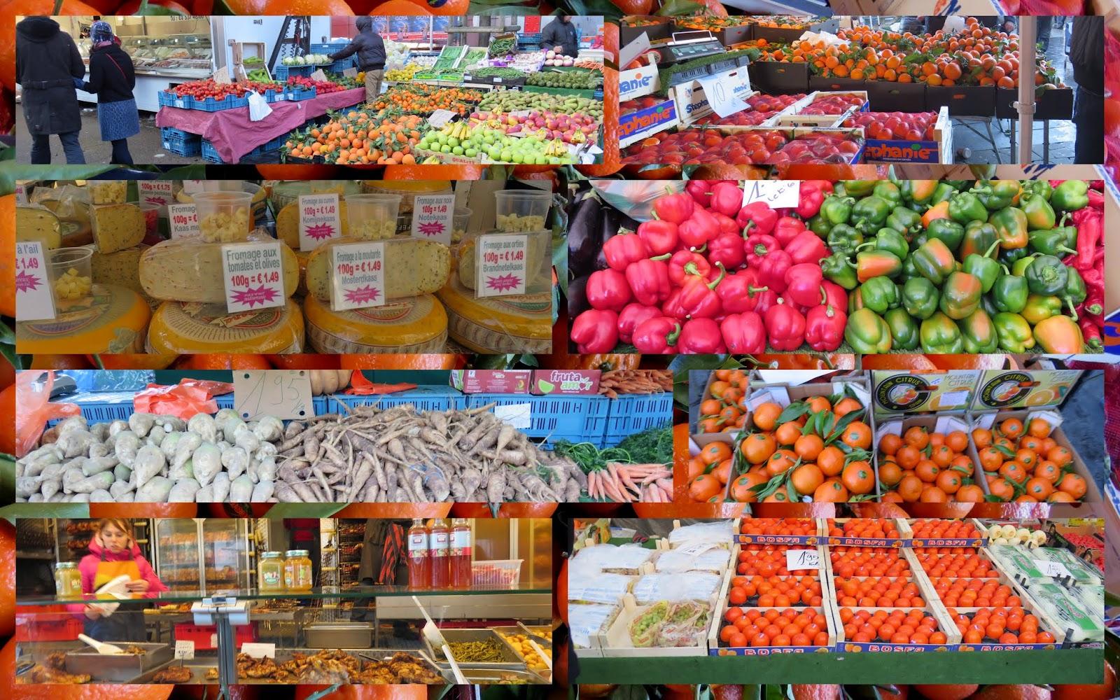 Brussels Midi Farmers Market
