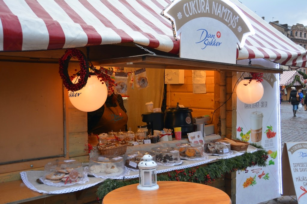 Christmas Market Riga cookies