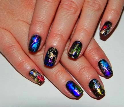 Classic French gold crystals Gel-color manicure/pedicure LED gel glitz Mylar glitter Mylar glitter foils custom gel mix glitz