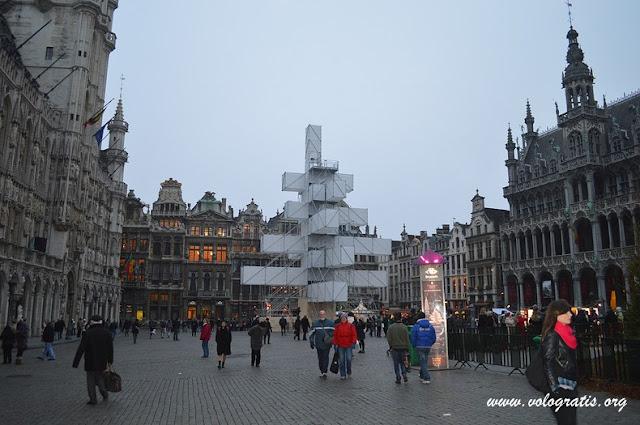 mercatini di natale di Bruxelles