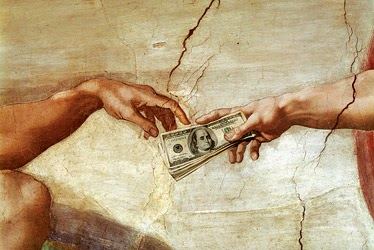funny church god collection money joke picture
