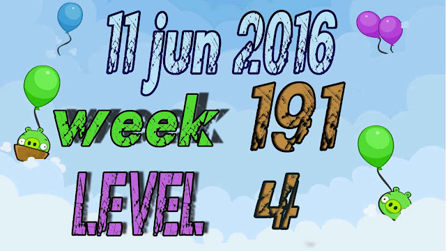 Angry Birds Friends Tournament level 4 Week 191
