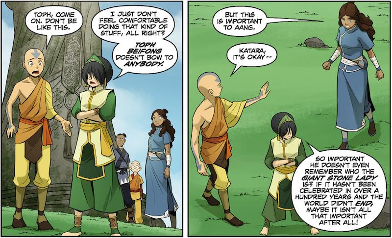 Avatar The Last Airbender: The Rift by Gene Luen Yang, Michael Dante DiMartino, Bryan Konietzko, Gurihiru, Michael Heisler.