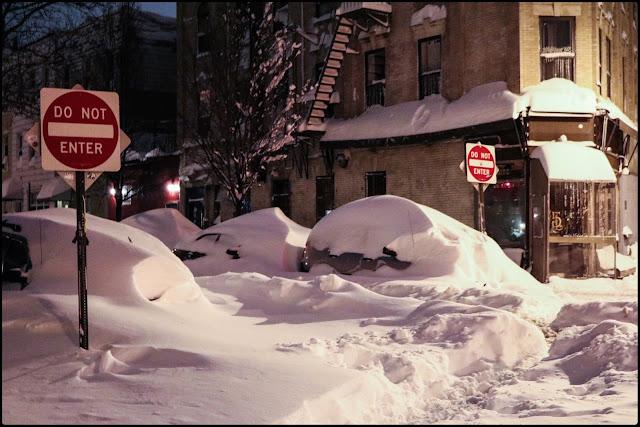 Snowzilla, New York - © Jeanne - Curiosités et futilités